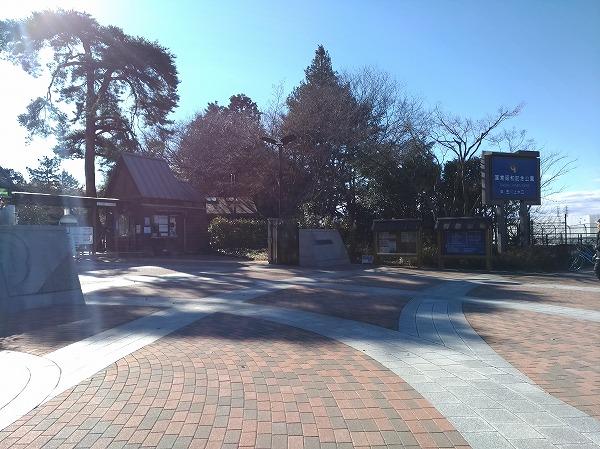昭和記念公園玉川上水口