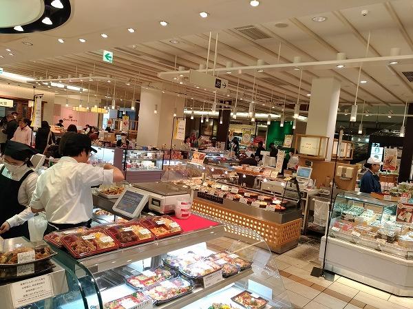 エキュート立川惣菜売り場の写真